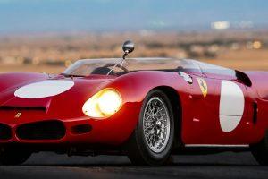 Ferrari 268 SP e 275 GTB Competizione leiloados por 7,7 milhões de dólares cada