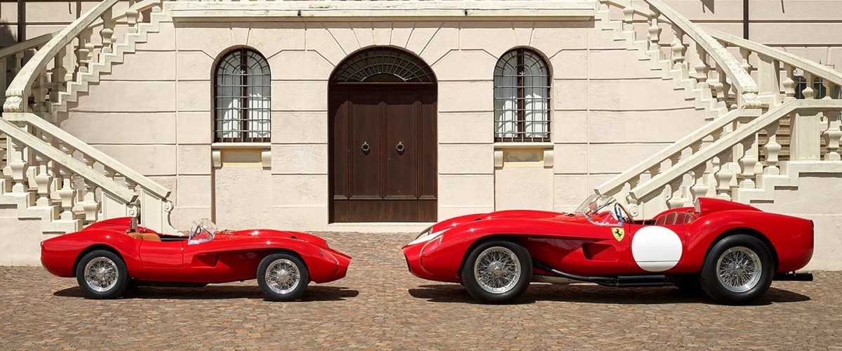 Ferrari Testa Rossa J, o 250 Testa Rossa para os mais pequenos