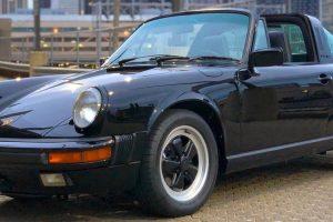 Porsche 911 Carrera Targa que pertenceu a Tom Cruise leiloado por 86 mil dólares