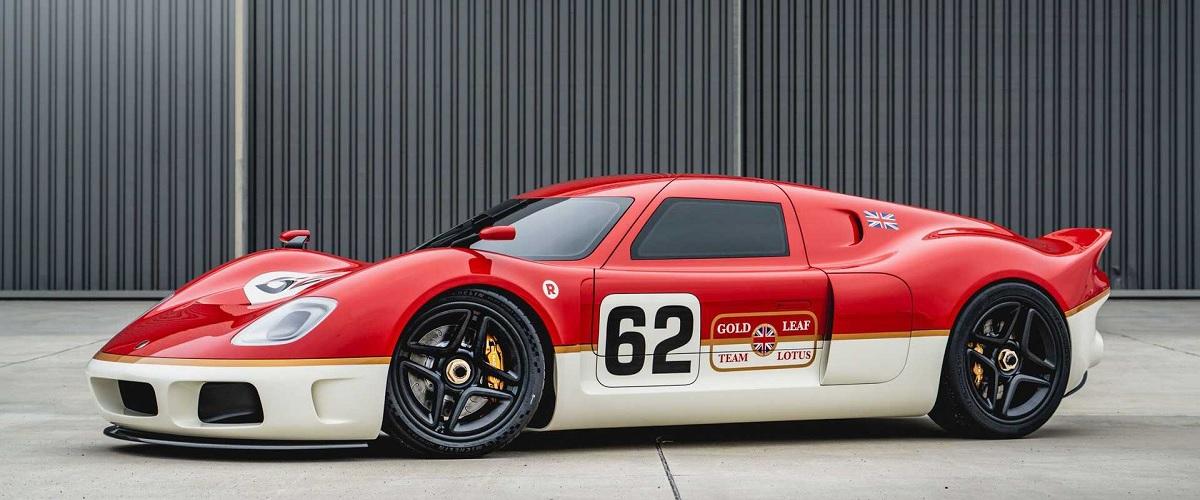 Radford renasce com a interpretação moderna do Lotus Type 62