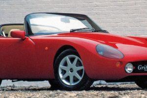 TVR Griffith, o leve desportivo britânico com motor V8