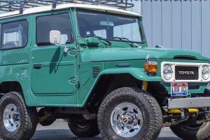Bonhams leva a leilão Toyota Land Cruiser de Tom Hanks