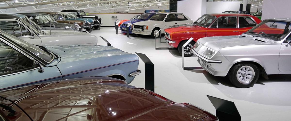 Colecção de clássicos da Vauxhall move-se para o British Motor Museum