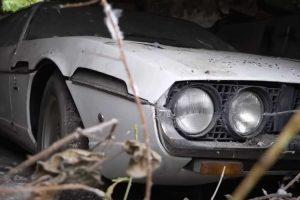 Barn Find: Lamborghini Espada abandonado durante 30 anos