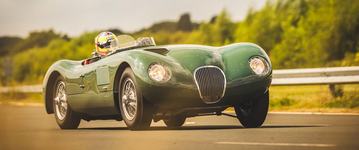 Jaguar apresenta a nova réplica do Jaguar C-Type