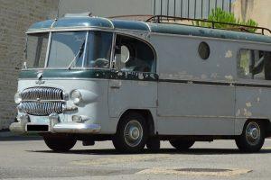 Exemplar única do Citroën Type H transformada em autocaravana pela Barou