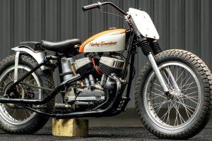 "Harley-Davidson KR de Denny ""Kannonball"" Kannenberg vendida em leilão"