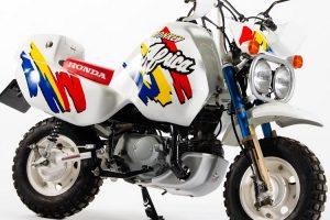 Bonhams leva a leilão rara Honda Z50J Monkey Baja Africa