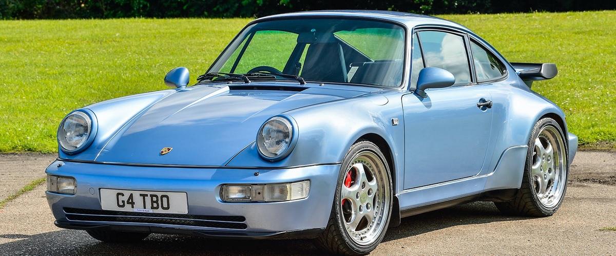 Jenson Button vendeu o seu raro Porsche 911 Turbo 3.6 em leilão por quase 370.000 euros