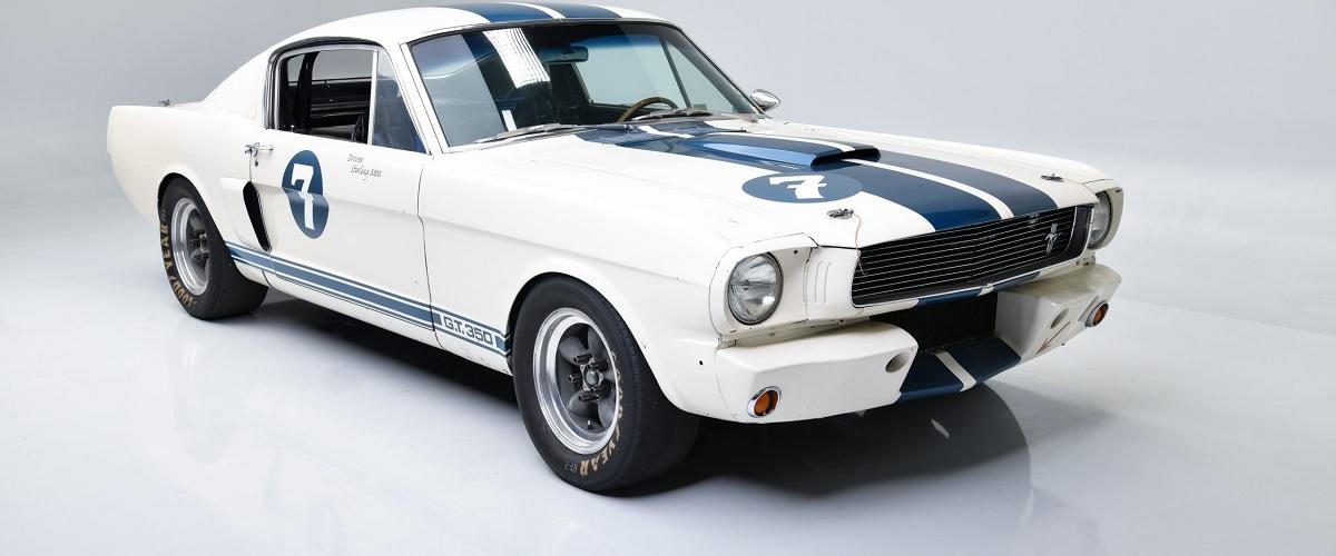 Shelby Mustang GT350 utilizado por Stirling Moss vai a leilão