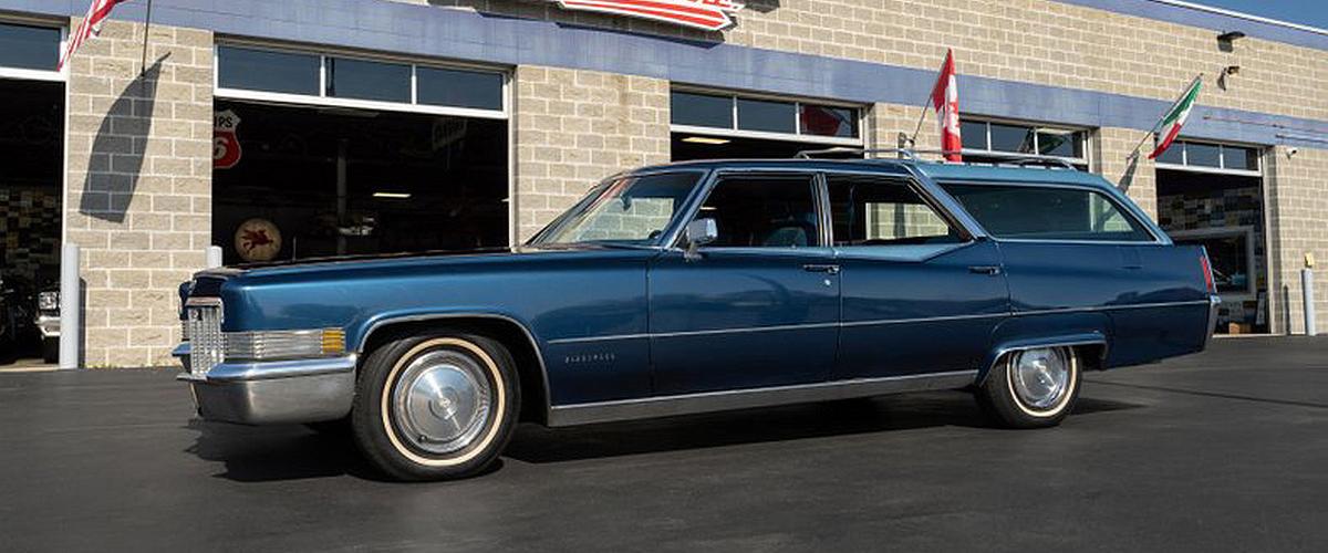 Está à venda um dos 14 Cadillac Fleetwood Station Wagon produzidas pela ASC