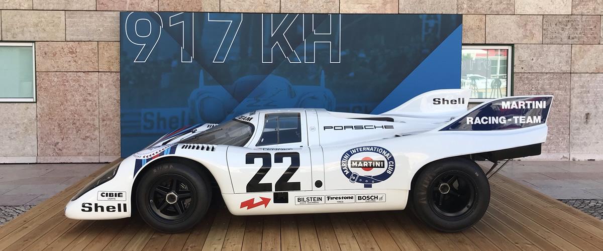 Centro Cultural de Belém recebeu exposição Porsche