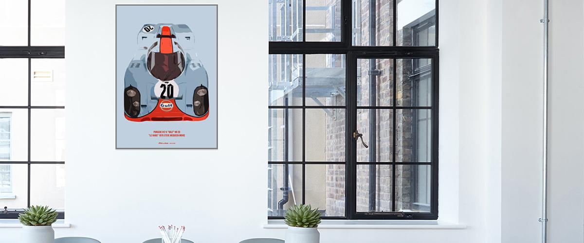 Todos os petrolheads deviam ter um destes posters em sua casa