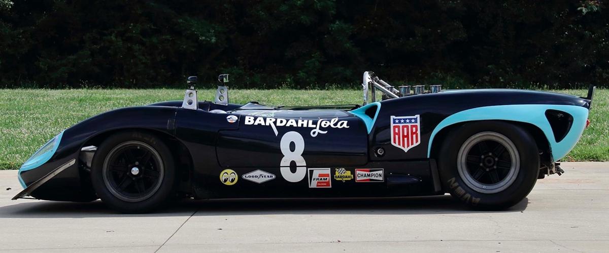 Lola T70 Spyder que pertenceu a Carroll Shelby e Dan Gurney vai a leilão