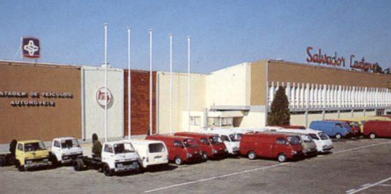 A primeira fábrica da Toyota na Europa