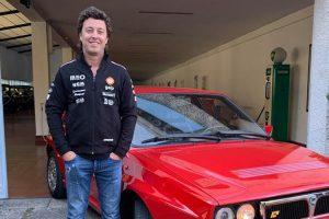 Armindo Araújo ensaia Lancia Delta Integrale HF do Museu do Caramulo