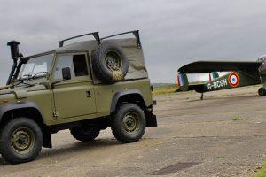 Land Rover Defender Winter Water Wolf, um raro veículo  militar