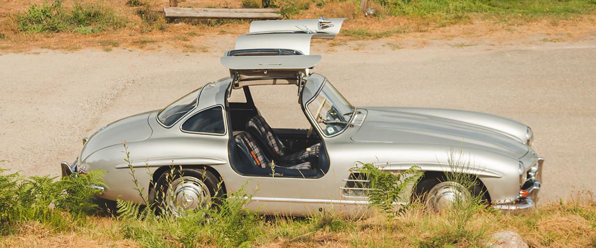 Andar num automóvel do Museu do Caramulo?